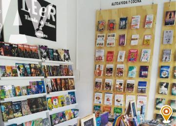 Leer, tienda de libros y juegos